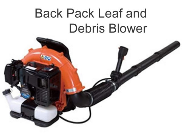 Echo Back Pack Leaf And Debris Blower