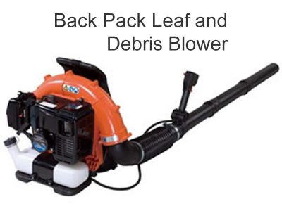 Echo Back Pack Leaf And Debris Blower