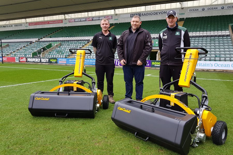Partnering with Plymouth Argyle Football Club